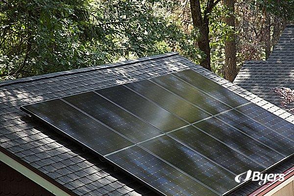 Solar Roof | Byers Solar | SunPower | City Solar | Solar California
