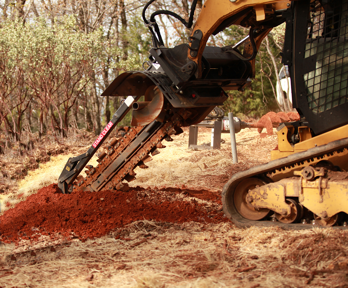 Byers Land Clearing and Wildfire Prevention: Trencher
