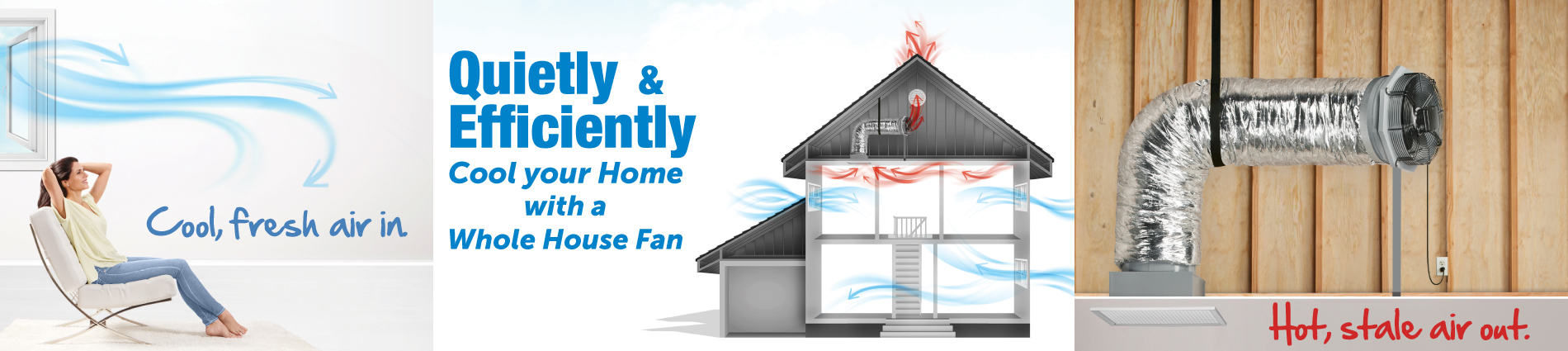 Byers Solatube - Whole House Fan - Cool your home quietly and efficiently