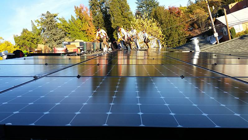 Byers Solar - Courtyard Suites - Grass Valley